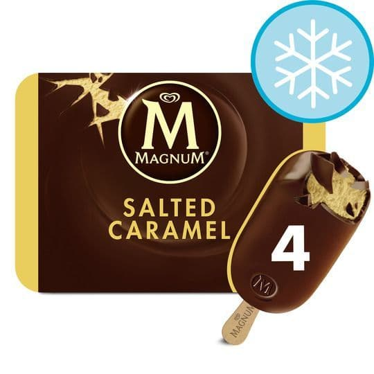 Magnum Salted Caramel Ice Cream 4x100ml