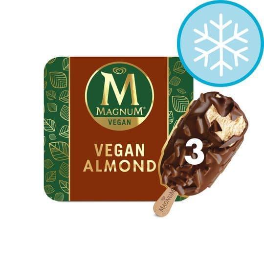 Magnum Vegan Almond Ice Cream 3pk
