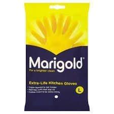 Marigold Rubber Gloves (L)