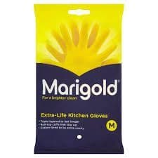 Marigold Rubber Gloves (M)