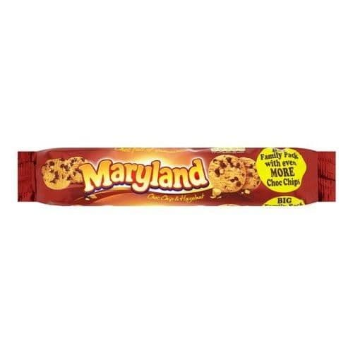 Maryland Choc Chip & Hazelnut Cookies 230g