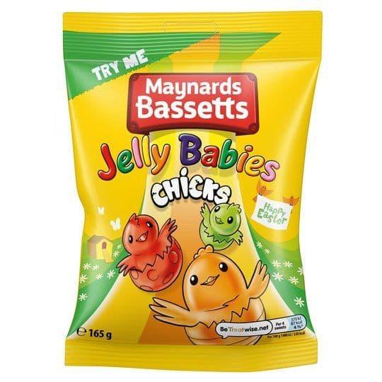 Maynards Jelly Babies Chicks 165g