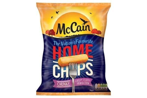 McCain Home Chips Chunky Cut 1kg