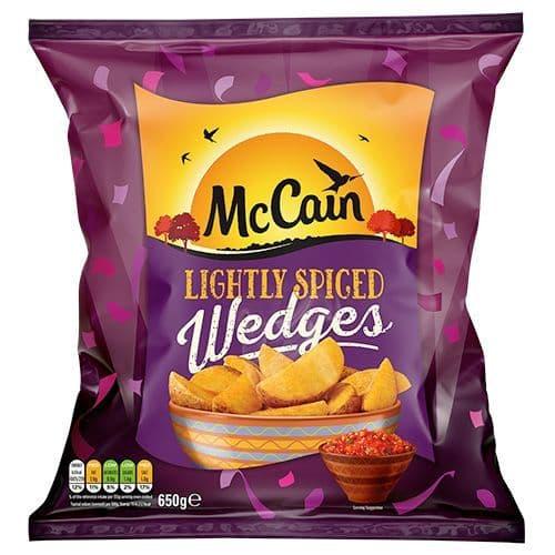 McCain Lightly Spiced Wedges 650g