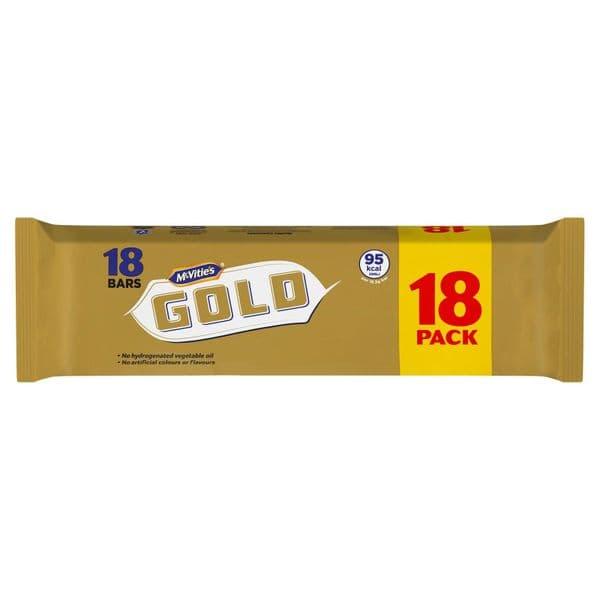 Mcvitie's Gold bar 18 Pack