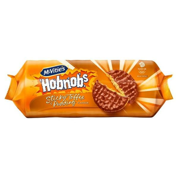 McVities Chocolate Hobnobs Sticky Toffee Pudding 262g
