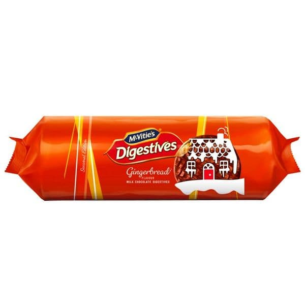 McVities Digestives Gingerbread 250g
