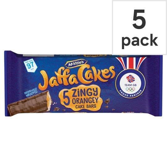 McVities Jaffa Cake Bar 5pk