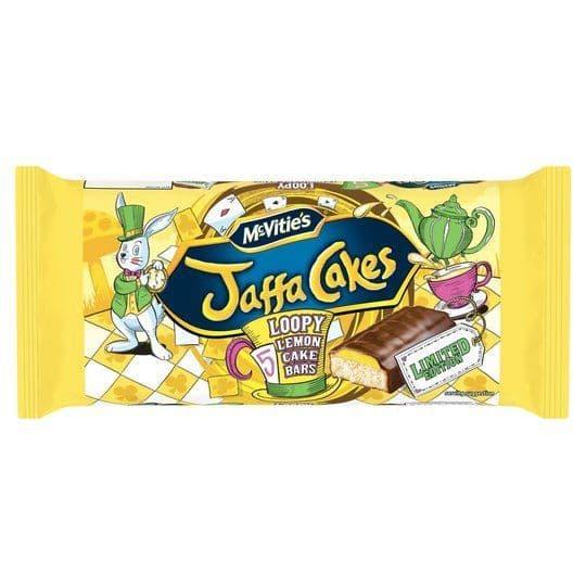 McVities Jaffa Cake Lemon Cake Bars 5pk