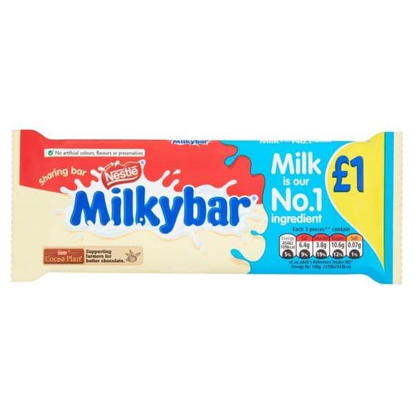 Milkybar 90g Bar