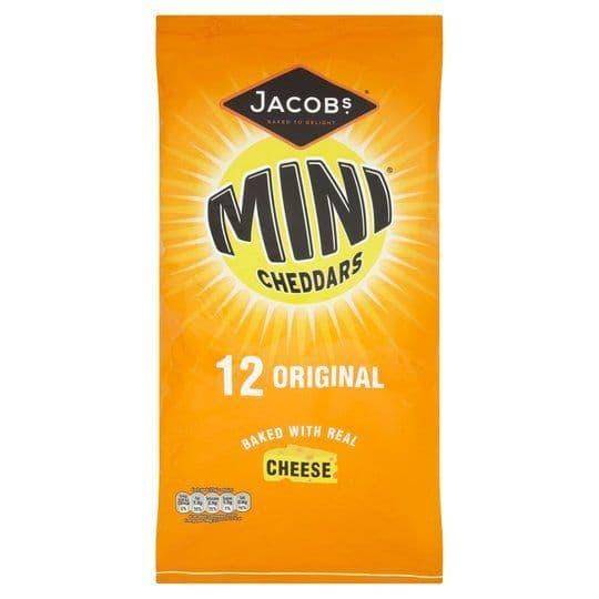 Mini Cheddars 12x25g