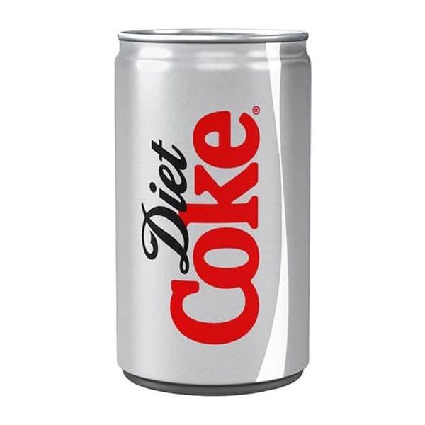 Mini Diet Coke Cans 24x150ml BB30.04.21