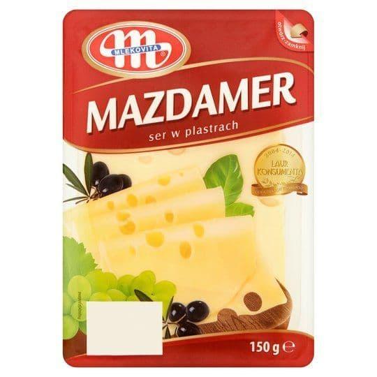 Mlekovita Mazdaamer Cheese Slices 150g