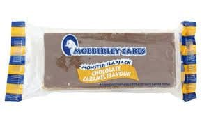 Mobberley Monster Flapjack Chocolate Caramel Flavour