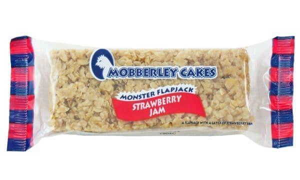 Mobberley Monster Flapjack Strawberry Jam