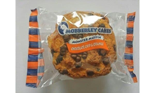 Mobberley Monster Muffin  Choc Chip & Orange