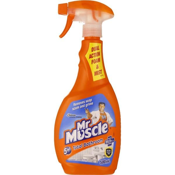 Mr Muscle 5 in 1 Bathroom & Toilet Cleaner 500ml