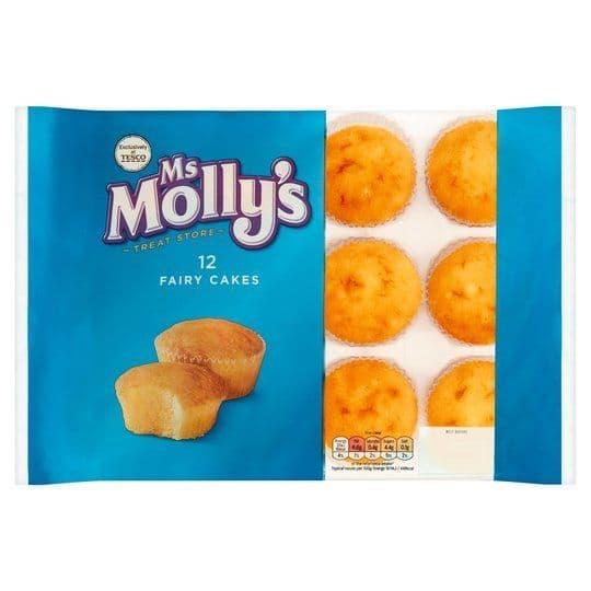 Ms Mollys 12 Fairy Cakes