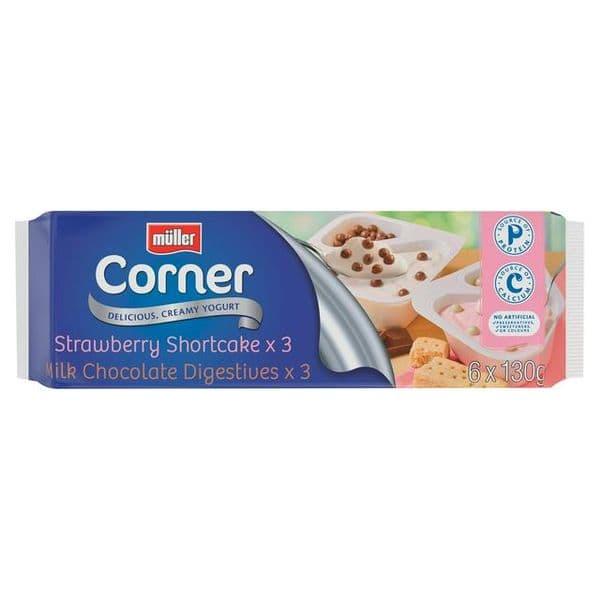 Muller Corner Biscuit 6x130g
