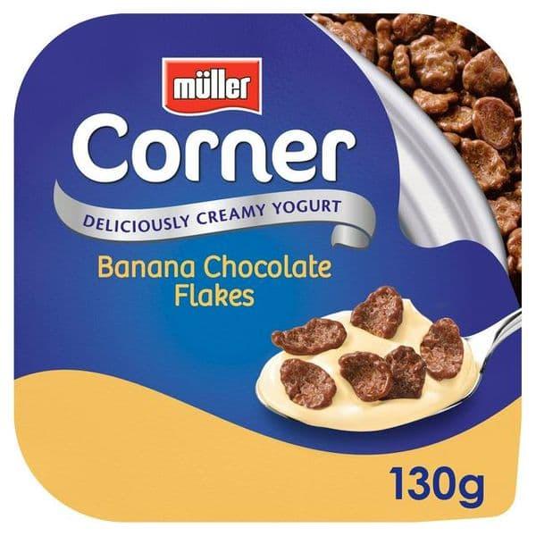 Muller Crunch Corner Banana Choco Flakes 130g