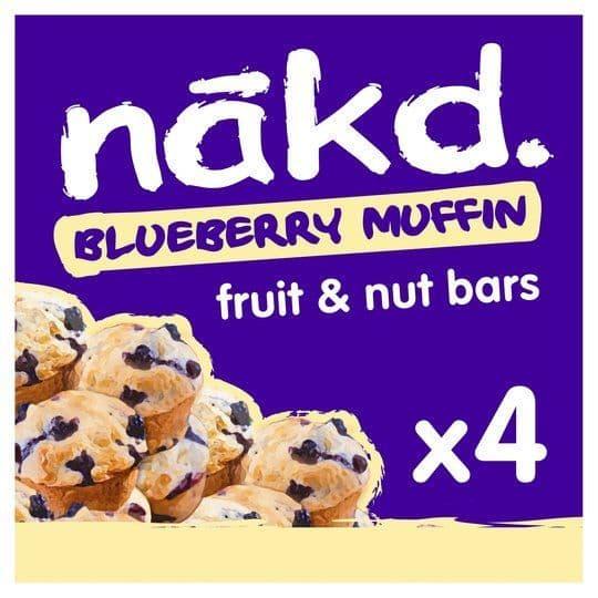 Nakd Blueberry Muffin 4Pk