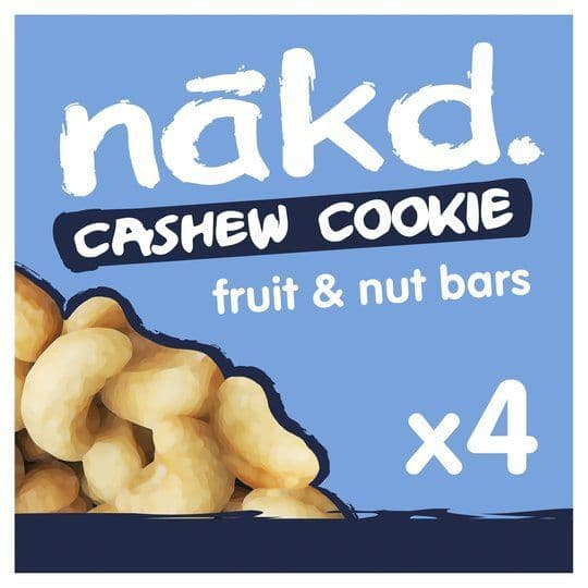 Nakd Cashew Cookie 4 pack