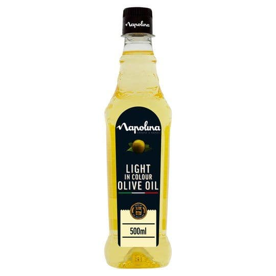 Napolina Light in Colour Olive Oil 500ml