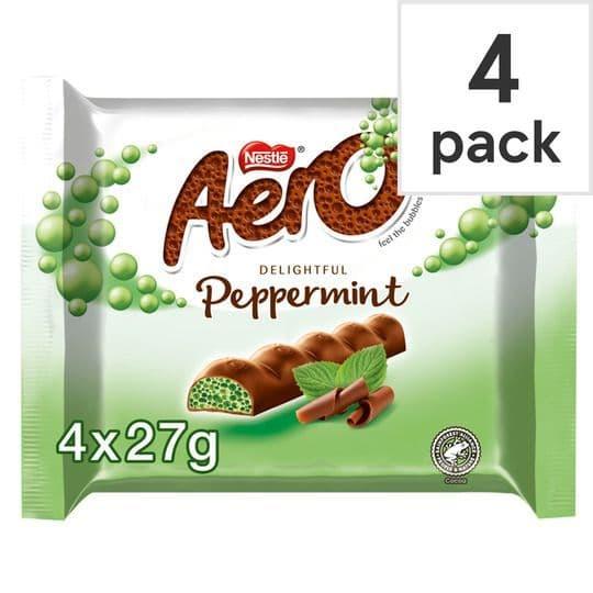 Nestle Aero Peppermint 4pk