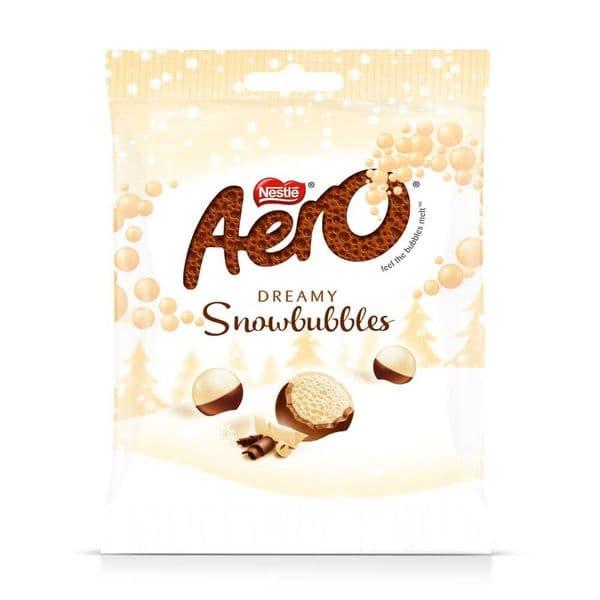 Nestle Aero Snowbubbles 80g