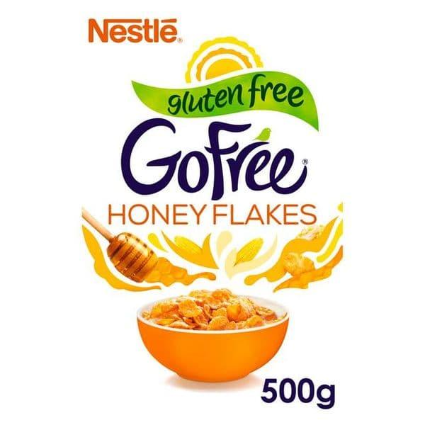 Nestle Go Free Honey Flakes 500g