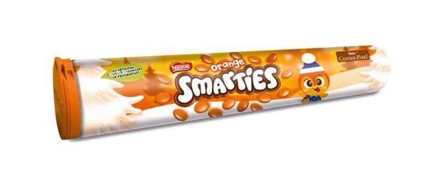 Nestle Smarties Giant Tube Orange 130g
