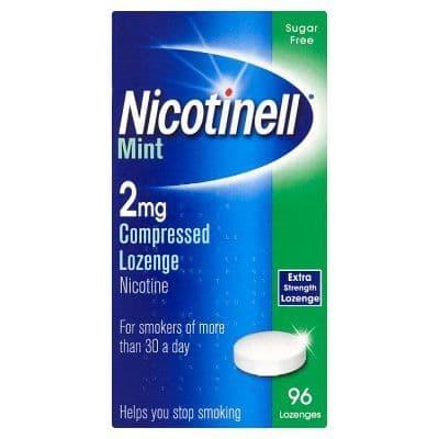 Nicotinell Mint 2mg Lozenge (96)