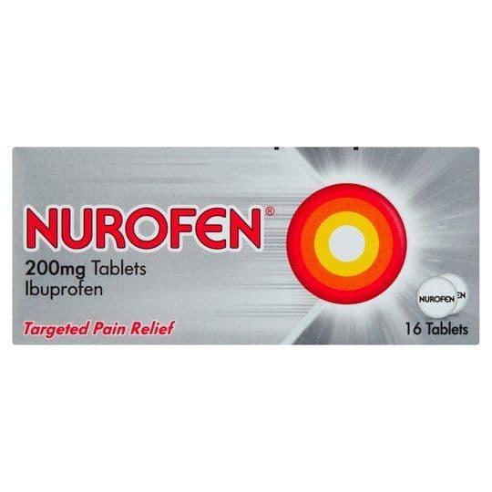 Nurofen Tablets 200mg (16)