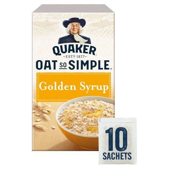 Oat so Simple Golden Syrup (10 sachets)