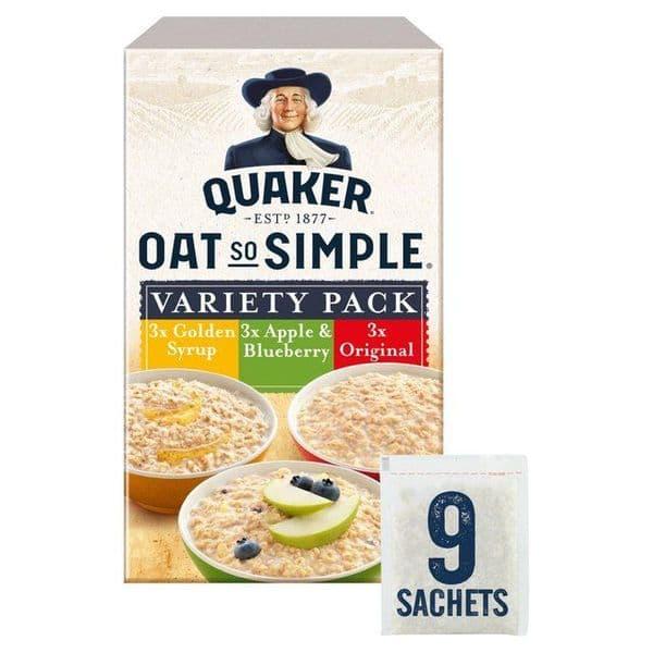 Oat so simple Variety (9 sachets)