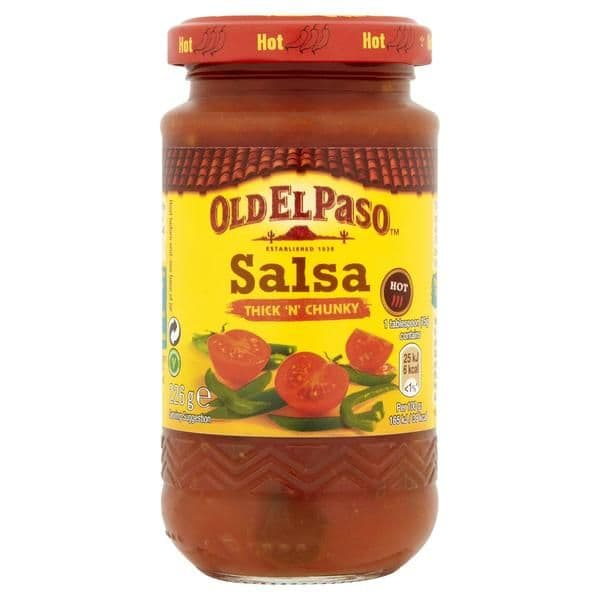 OEP Thick & Chunky Salsa Hot
