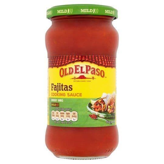 Old El Paso Fajita Cooking Sauce Mild 340g