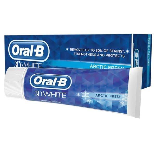 Oral B 3D White Arctic Fresh Toothpaste 70g