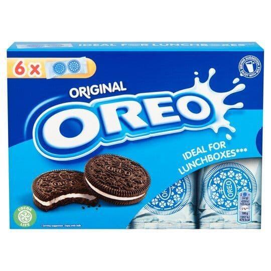 Oreo Lunch Box Vanilla 132g