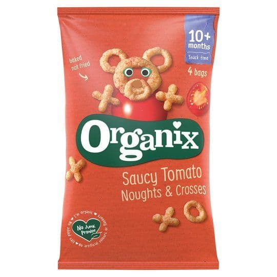 Organix Noughts & Crosses 4x15g