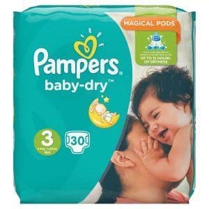 Pampers Baby Dry Size 3 (30)