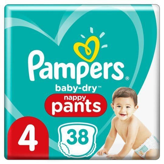 Pampers Nappy Pants Size 4 (38)