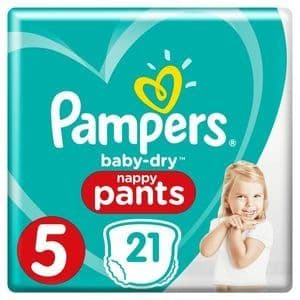 Pampers Nappy Pants Size 5 (21)