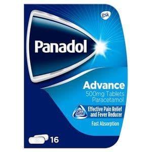 Panadol Advance Paracetamol Tablets 16pk