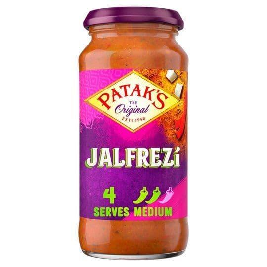 Pataks Jalfrezi Curry Sauce 450g