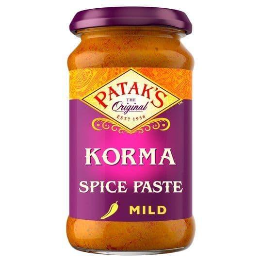 Pataks Korma Spice Paste Jar 283g