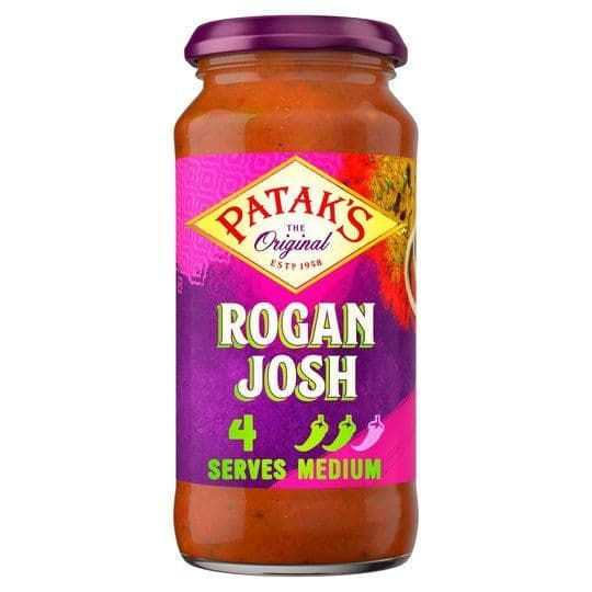 Pataks Rogan Josh Curry Sauce 450g