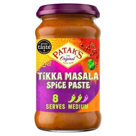 Pataks Tikka Masala Spice Paste Jar 283g