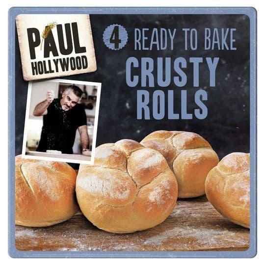 Paul Hollywood 4 Crusty Rolls
