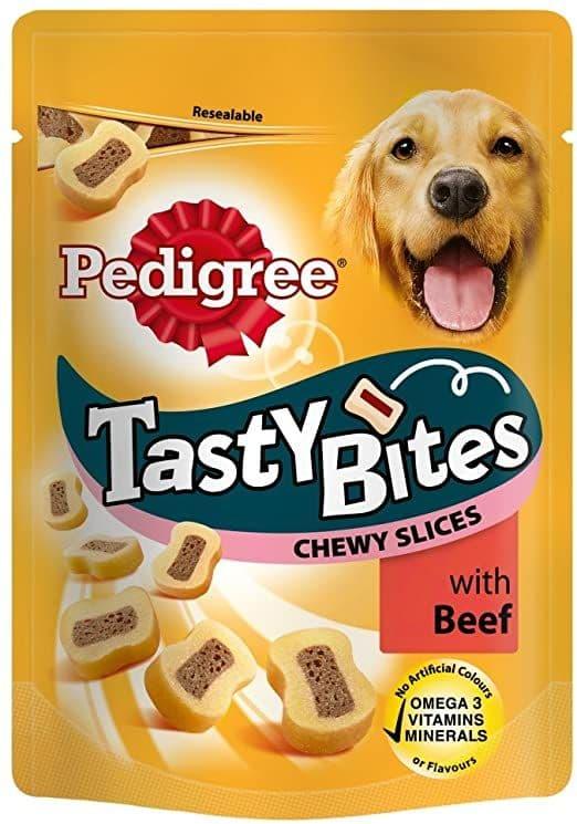 Pedigree Bites Beef Slices 155g
